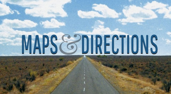 Maps and directions button